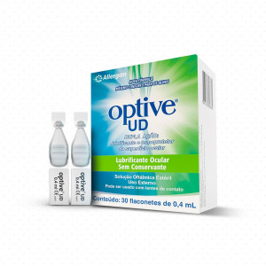 Colírio Optive UD - 30 Flaconetes com 0,4mL