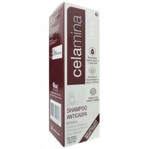 Celamina Ultra Shampoo Anticaspa 150mL