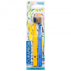 Escova Dental Curaprox CS Smart Ultra SoftDuo ToothBrush c/2
