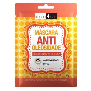 Máscara Facial Beauty 4 Fun Antioleosidade 8g