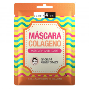 Máscara Facial Beauty 4 Fun Colágeno 8g