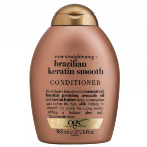 Condicionador OGX Brazilian Keratin Smooth 385mL