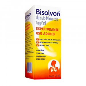 Bisolvon Xarope Expectorante Adulto Sabor Cereja 120mL
