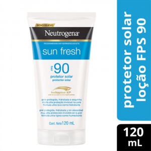 Protetor Solar Neutrogena Sun Fresh Body FPS90 120mL