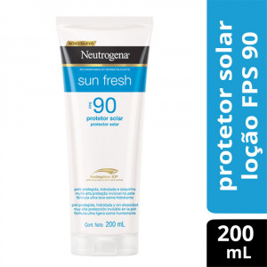 Protetor Solar Neutrogena Sun Fresh Body FPS90 200mL