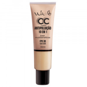 Vult Base CC Cream Antipoluíção 10 em 1 30mL - MB01 Bege