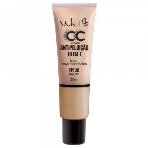 Vult Base CC Cream Antipoluíção 10 em 1 30mL - MB02 Bege