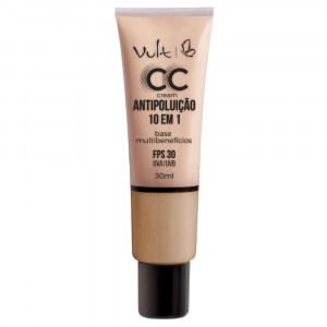 Vult Base CC Cream Antipoluíção 10 em 1 30mL - MB03 Bege