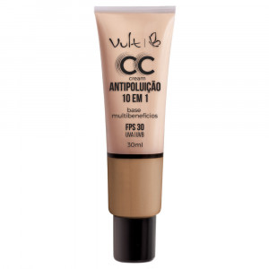 Vult Base CC Cream Antipoluíção 10 em 1 30mL - MB04 Bege