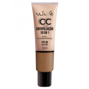 Vult Base CC Cream Antipoluíção 10 em 1 30mL - MB05 Bege