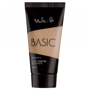 Vult Base Líquida Basic 2 em 1 30mL - 01