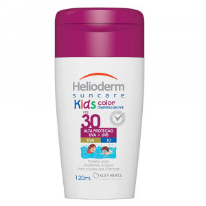Protetor Solar Helioderm Suncare Kids Color Hertz FPS30 120mL