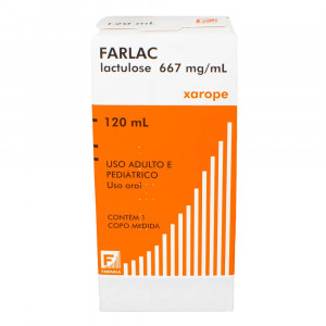 Farlac Xarope 667mg/mL 120mL