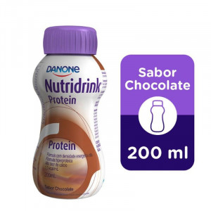 Nutridrink Protein Suplemento Nutricional Chocolate 200mL