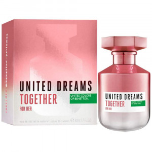 Benetton United Dreams Together EDT Perfume Feminino 80mL