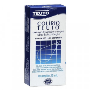 Colírio Teuto 20mL
