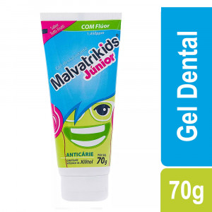 MalvatriKids Júnior Gel Dental Inf Anticárie Tutti-Frutti 70g