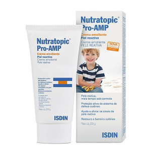 Nutratopic Pro-AMP Emoliente Corporal Inf Reativa Isdin 204g